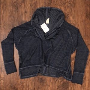 BRAND NEW Free People 'Wildcat' Thermal Top